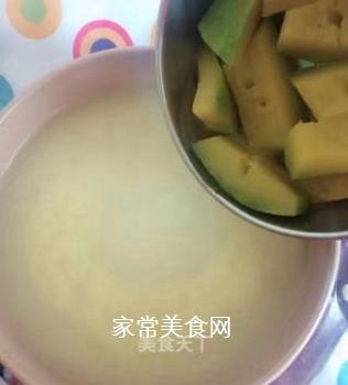 小米南瓜粥的做法步骤:6