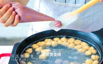 蔬菜鸡肉丸子的做法步骤:7