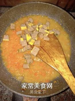 肉末南瓜酱软饭的做法步骤:8