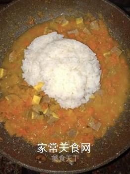肉末南瓜酱软饭的做法步骤:9