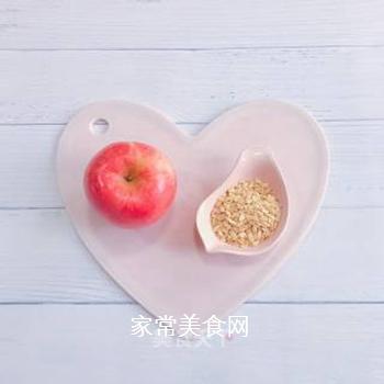 苹果燕麦糊的做法步骤:1