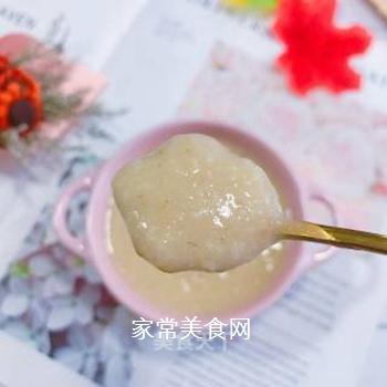 苹果燕麦糊的做法步骤:9