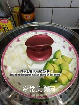清甜牛油果泥的做法步骤:3
