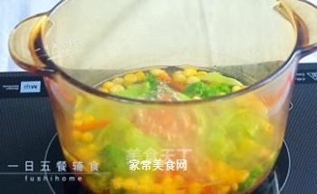 杂蔬鳕鱼饭团的做法步骤:3