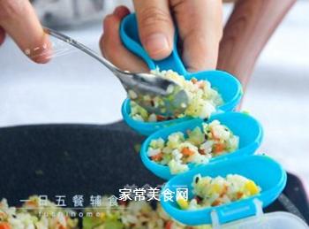 杂蔬鳕鱼饭团的做法步骤:8