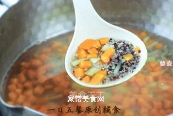 胡萝卜土豆藜麦糊的做法步骤:5