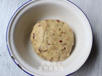 大红枣核桃仁小饼干的做法步骤:9