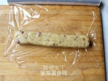 大红枣核桃仁小饼干的做法步骤:10