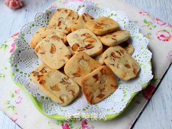 大红枣核桃仁小饼干的做法