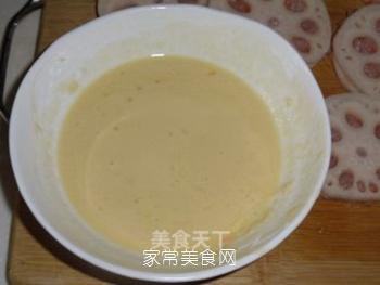 虾肉藕夹的做法步骤:9