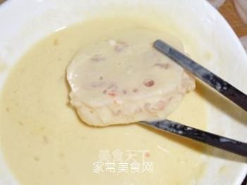 虾肉藕夹的做法步骤:10