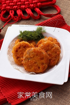 虾肉藕夹的做法