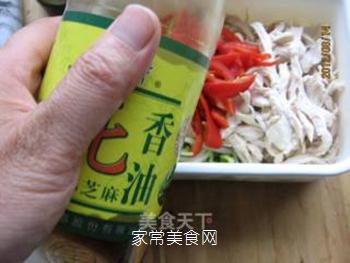 黄豆芽拌鸡丝的做法步骤:10