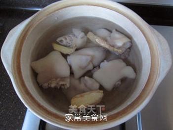 海带花生煲猪蹄的做法步骤:8