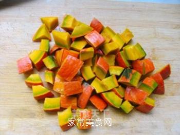 不一样的美味——鹌鹑蛋烧南瓜的做法步骤:3