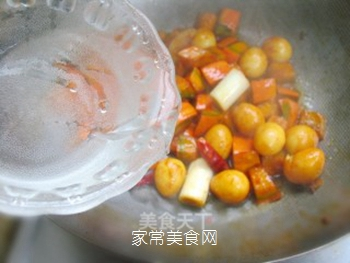 不一样的美味——鹌鹑蛋烧南瓜的做法步骤:10