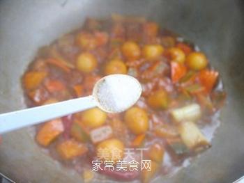 不一样的美味——鹌鹑蛋烧南瓜的做法步骤:12