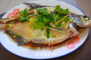 湖北家乡菜--清蒸武昌鱼的做法步骤:7