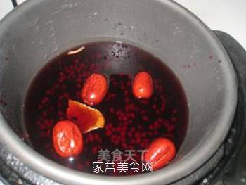 黑米红豆红枣粥的做法步骤:4