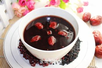 黑米红豆红枣粥的做法