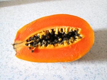 润肺美容兼顾的木瓜银耳羹的做法步骤:3