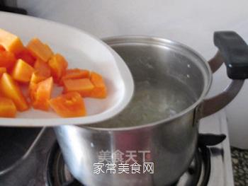 润肺美容兼顾的木瓜银耳羹的做法步骤:8