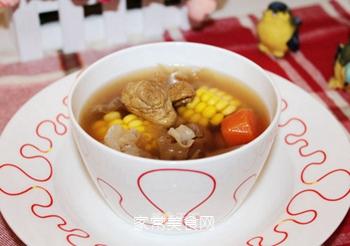 松茸银耳瘦肉汤的做法