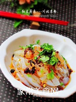 【川菜】---川北凉粉的做法