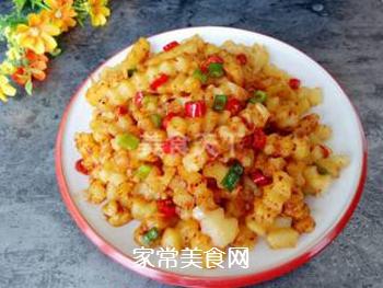 四川炸洋芋的做法步骤:9