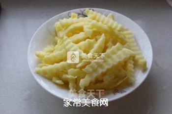 狼牙土豆――街边小食搬回家,健康又美味的做法步骤:5