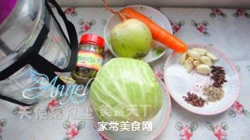酸爽开胃的――四川泡菜的做法步骤:1