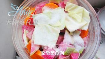 酸爽开胃的――四川泡菜的做法步骤:5
