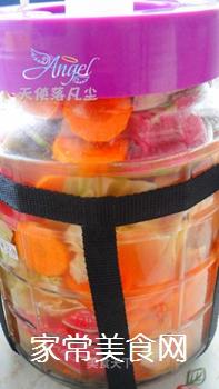 酸爽开胃的――四川泡菜的做法步骤:7