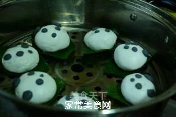 【四川】熊猫版叶儿粑的做法步骤:13