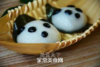 【四川】熊猫版叶儿粑的做法步骤:14
