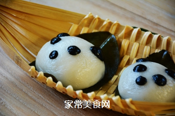 【四川】熊猫版叶儿粑的做法