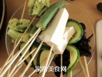 正宗川味街头小吃――钵钵鸡的做法步骤:4