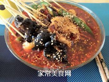 正宗川味街头小吃――钵钵鸡的做法步骤:7