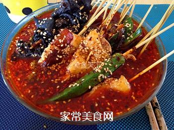 正宗川味街头小吃――钵钵鸡的做法