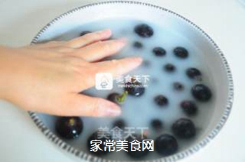 黑加仑冰粉的做法步骤:4