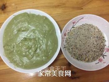 青汁糯米糍的做法步骤:6