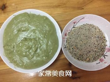 青汁糯米糍的做法