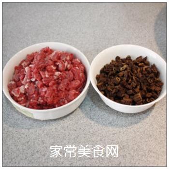 绵阳人最爱的早餐米粉臊子-----牛肉干笋臊子的做法步骤:3