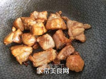 红烧排骨炖豆角的做法步骤:4