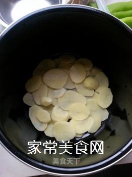 蒜香里脊(电饭煲版)的做法步骤:6