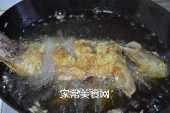 糖醋鲤鱼的做法步骤:19