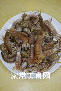 又到吃虾季---【麻辣虾爬子】的做法步骤:1