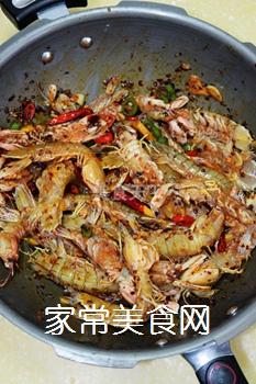 又到吃虾季---【麻辣虾爬子】的做法步骤:4