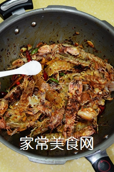 又到吃虾季---【麻辣虾爬子】的做法步骤:5