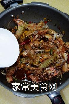 又到吃虾季---【麻辣虾爬子】的做法步骤:6